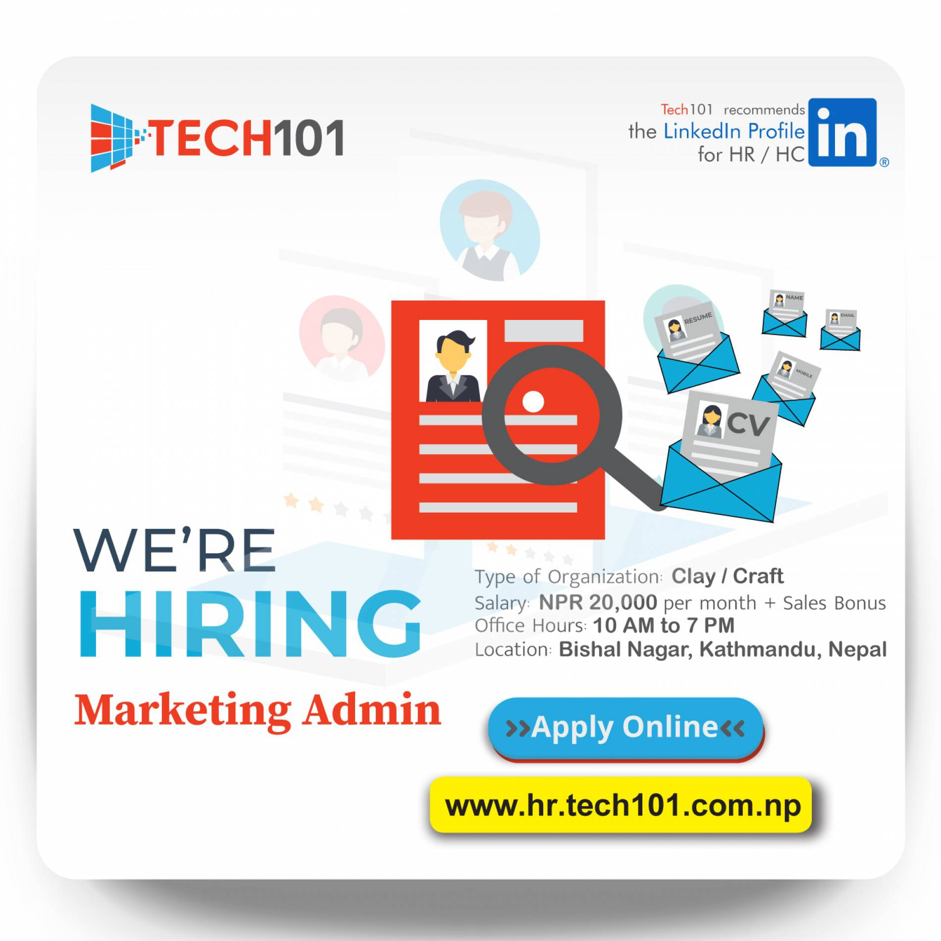 Marketing Admin