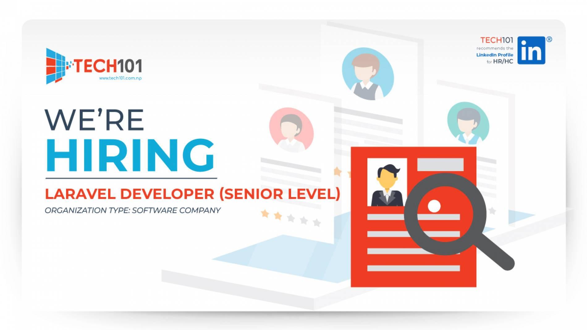 Laravel Developer (Senior Level)