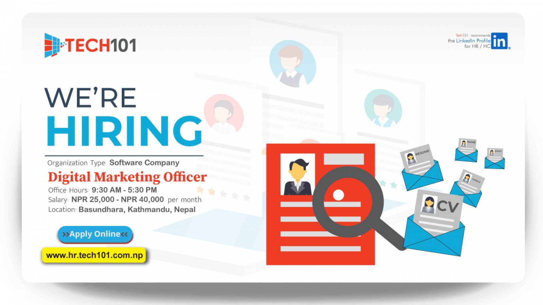 Digital Marketing Officer